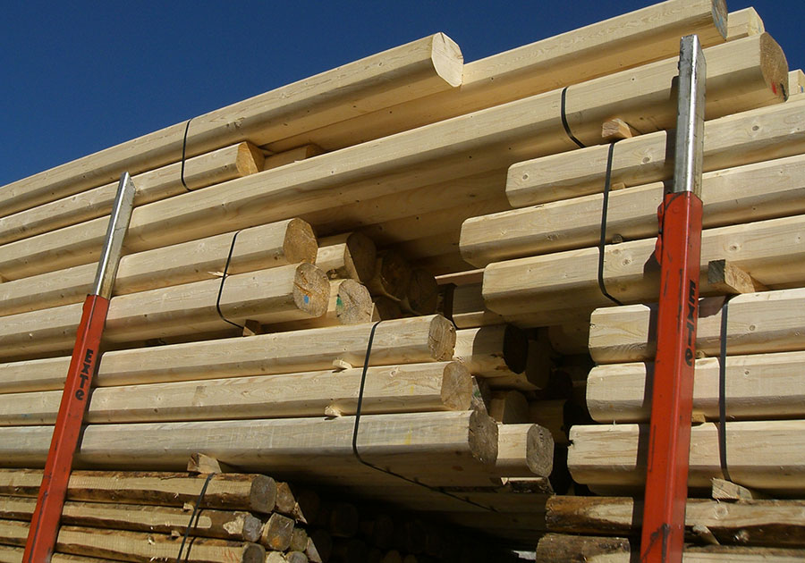 Legname Per Edilizia E Carpenteria Travi Per Tetto